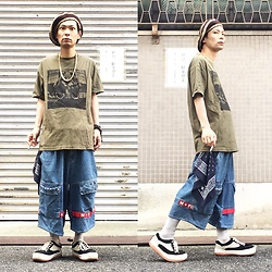 @KiD - 2pac Tee, Northwave Espresso - JapaneseTrash417