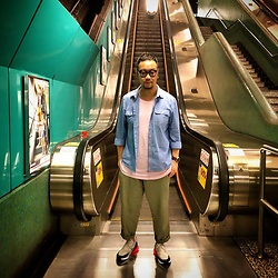Mannix Lo - H&M Oxford Shirt, Cotton On Tee, Gu Loose Fit Pants, Nike Airmax 270 Sneakers - Do it with PASSION or not at all