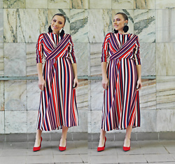Karina Małecka -  - Stripes dress