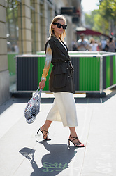 Anna Borisovna - Zara Jacket, Zara Shirt, Finery London Pants, Céline Bag, Mango Shoes, Céline Sunglasses - The Fashion Week Look Day 1