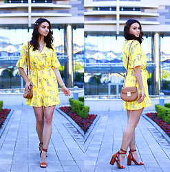 Anna Mour ♥ -  - Yellow floral dress