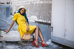 Melody Jacob -  - Yellow flare dress