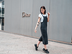 Nina Wirths - Pull & Bear Jumpsuit, New Look T Shirt, Asos Shoes - I look like an amish