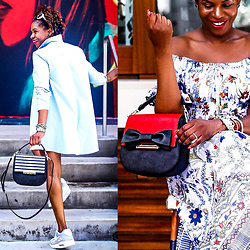 Monica Awe-Etuk -  - ONE BAG WORE 3 WAYS!