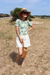 Anna Borisovna - H&M Hat, Massimo Dutti Top, Mango Short, Nomadic State Of Mind Shoes - The Summer Short