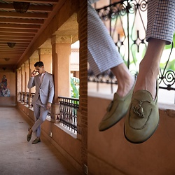 Matthias Geerts -  - Suited up in Marrakesh