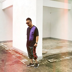 Mannix Lo - Online Shop Pocket Tee, Online Shop Side Line Pants, Nike Roshe Run Sneakers - Why you forget how sick you were, then you know u are healed