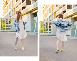 Andrea Funk / andysparkles.de - Scarosso Mules - Yellow Mules