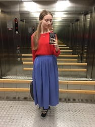 Lexa - Diva Accessories, H&M Sweater, Koton Skirt - 137.