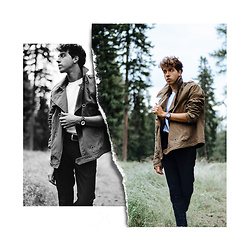 Yanick Monteiro - H&M Brown Military Jacket, H&M Loos White T Shirt, Jord Wood Watches By, River Island Skinny Jeans Black - ForesT
