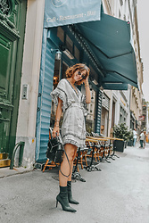 Laugh of Artist - Zimmermann Dress, Mango Boots, Diesel Backpack - Zimmermann