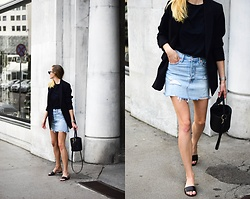 Katarina Vidd - All On My Blog - Best denim skirt