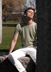 Georg Mallner - Zara Tshirt, H&M Pants - August 03, 2018