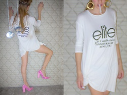 Mariori Macouzet - Nasty Gal Heels, Forever 21 Accesories, Me Shirt Dress - Property of John Casablancas
