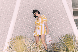 Amy Roiland - Lpa Dress, Amy Roiland Sunnies - LPA x A Fashion Nerd x Revolve