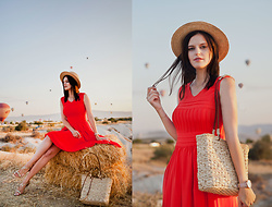 Viktoriya Sener - Vipshop Dress - RED