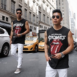 Leo Chan - Levitate Style How To Wear A Retro Shirt - How to Rock a Retro Sleeveless Shirt