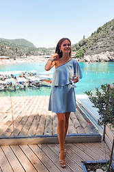 Tamara Bellis - Asos Dress, Migato Sandals - Corfu Land