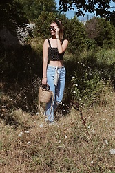 Marion Style - Forever 21 Top, Pull & Bear Mom Jean, Zara Bag - Lil heart