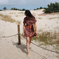 Zuza J. - Zara Dress, Promod Bag - Seaside