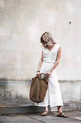 Daniella Robins - Isabel Marant Trousers - Summer Whites For Long Hot Days