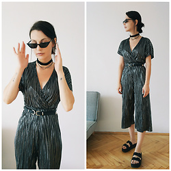 Klaudia - New Look Jumpsuit -  another way to wear this jumpsuit