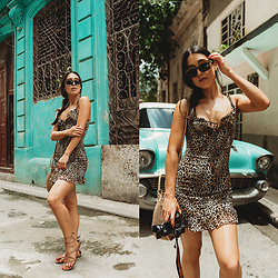 Emily T -  - Leopard Mini Dress