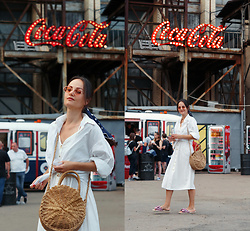 Ann Kos - Exlura Dress, Tosave Bag - Coca Cola