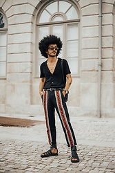 Marco Moura - Zara Sandals, Zara Pants, Zara Shirt - Birthday look