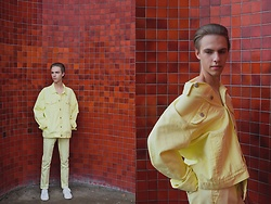 Piotr Czak - Forever 21 Jacket, Zara Pants, Zara Shoes - LEMONADE by PIOTR CZAK