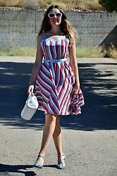 Elisabeth Green - Rosegal Dress - Striped Dress