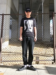 ★masaki★ - Kollaps Post Punk, Jesse Draxer Tee, Neuwdenim Studio Relaxed, Converse Gx1000 - POST-PUNK ポストパンク