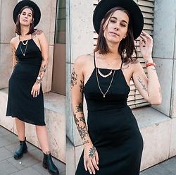Nina Wirths - Asos Dress, H&M Hat, New Look Necklace, Asos Shoes - Last summer outfit
