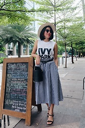 Cassey Cakes - Zara Skirt, Mango Bag - Love You Like S.O.