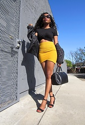 Shanell Holland - Forever 21 Skirt, Charlotte Russe Shoes - Step