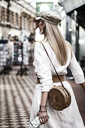 Mad Cat Fashion P. - Zara Bag - All white