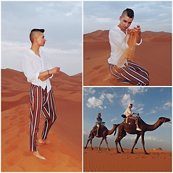 Jacob Żelechowski - Zara Pants - Jacob Takes Marocco #1 (A year without rain)