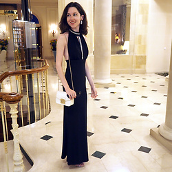 Claire H - Tally Weijl Dress, Furla Metropolis - An evening at the Cap d'Antibes