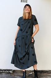 Lootsin Loots - Lootsin Dress - Polka dots