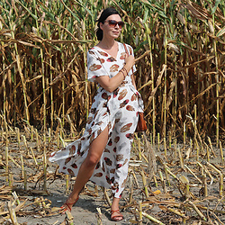 Minimalissmo .. - Zaful Dress - Corn field