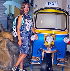 GlamDiva - Superdry Backpack - The Rickshaw in Bangkok