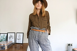 Lootsin Loots - Lootsin Shirt, Lootsin Pants, H&M Hat - Sustainable Fashion