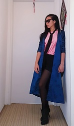 Jenn Chang -  - How to wear a old chinese coat (2)