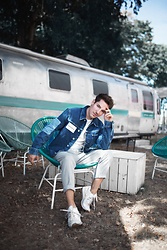 Nico Stank - Calvin Klein Jeansjacket, Topman Pants, New Balance Sneakers - Up for a ROADTRIP?