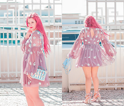 Inês Aniceto - Aldo Bag, Asos Dress, Public Desire Shoes - Cinderella