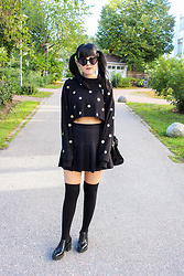 Panda . - Ivyrevel Sunglasses, Asos Top, American Apparel Skirt - DISCO