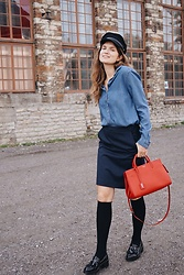 Getri Mitt -  - SCHOOLGIRL & my new YSL BAG