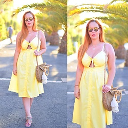 Nery Hdez - Novashe Dress - Life in yellow