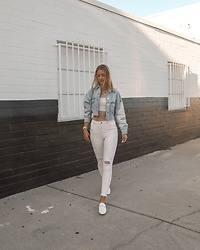 Katie Van Daalen Wetters -  - The Cropped Denim Jacket