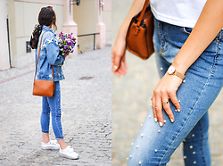 Cleo D - Born2be Jacket - Total denim look
